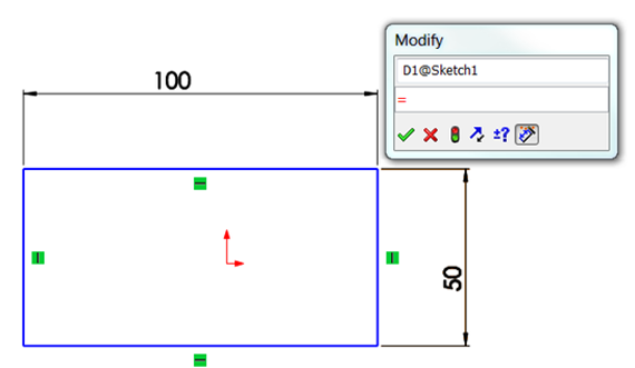 2014 SOLIDWORKS Help - Linking Dimensions Using Global Variables