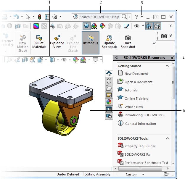2017 Solidworks Help User Interface Overview