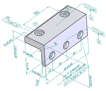 2018 Solidworks Help Dimxpert For Parts